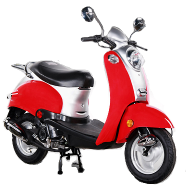 vespa style scooter 50cc. Black Bedroom Furniture Sets. Home Design Ideas